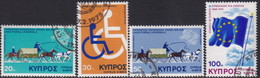 Cyprus 1975 SG #439-42 Compl.set Used Anniversaries And Events - Cyprus (Republic)