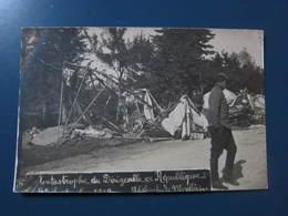 Carte Postale Catastrophe Du Dirigeable République - Dirigibili