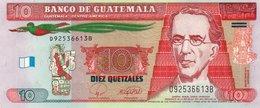 GUATEMALA 10 QUETZALES 2008  P-117   UNC. - Guatemala