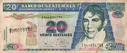 GUATEMALA 20 QUETZALES 2003  P-108 CIRC. - Guatemala