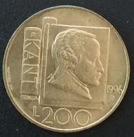 SAINT MARIN - SAN MARINO - 200 LIRE 1996 - Kant - KM 356 - Saint-Marin