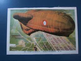 Carte Postale Camp De Mailly Ballon D'aérostation - Dirigibili