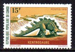 1970 Congo Préhistoire Kentrosaure - Congo - Brazzaville