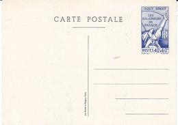 Entier Postal Neuf Les éclaireurs De France , 2 Scans - Standard- Und TSC-AK (vor 1995)