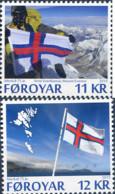 Ref. 337503 * NEW *  - FEROE Islands . 2015. 75TH ANNIVERSARY OF THE FLAG OF FEROE. 75 ANIVERSARIO DE LA BANDERA DE FER - Färöer Inseln