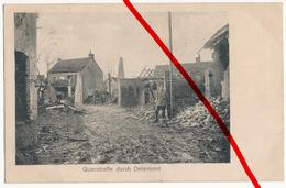 Deûlémont - 1914 - Stempel Sanitätskompanie Des 19. AK, 40. Inf.Div. - Lille