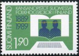 Ref. 103233 * NEW *  - FINLAND . 1989. CENTENARY OF POPULAR HIGH SCHOOL. CENTENARIO DE LAS ALTAS ESCUELAS POPULARES - Finlandia