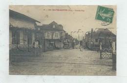 Le Vignon-en-Quercy (46) :Le Passage à Niveau De Les Quatre-Routes-du-Lot Et Perspective De La Grande Rue En 1910 (a PF. - Other Municipalities