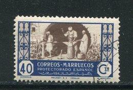 MAROC ESPAGNOL- Y&T N°345- Oblitéré - Marocco Spagnolo
