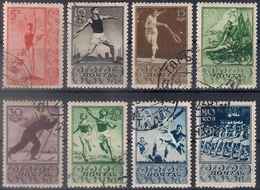 Russia 1938, Michel Nr 657-64, Used - 1923-1991 UdSSR