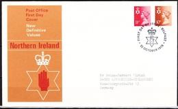 Nordirland 1976 MiNr.22 - 23 FDC  Königin Elizabeth II. ( D 3659 )günstige Versandkosten - Regional Issues