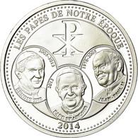 Vatican, Médaille, Les Papes De Notre Epoque, 2014, FDC, Argent - Autres