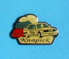 1 PIN'S //  ** RALLYE BMW M3 / TAUTLINER / KNAPICK / FINA / TITAN ** - BMW