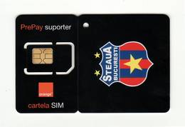 ROMANIA Orange (Football Club 3) GSM SIM MINT - Roumanie