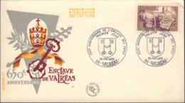 Ref. 439156 * NEW *  - FRANCE . 1968. 650th ANNIVERSARY OF VALREAS PAPAL ENCLAVE. 650 ANIVERSARIO DEL TERRITORIO PAPAL D - Unused Stamps