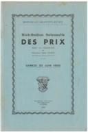 Grenoble - Rondeau Montfleury - Distribution Des Prix - 30 Juin 1956 - Diplômes & Bulletins Scolaires