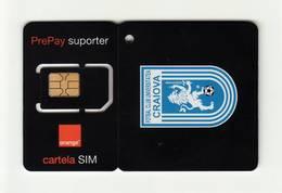 ROMANIA Orange (Football Club 5) GSM SIM MINT - Roumanie