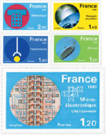 Ref. 123303 * NEW *  - FRANCE . 1981. GREAT ACHIEVEMENTS OF XX CENTURY. GRANDES REALIZACIONES DEL SIGLO XX - Nuevos