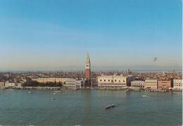 VENEZIA - BACINO DI SAN MARCO - VIAGGIATA 1995 - Italia