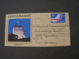 Gibraltar Aerogramme 1988 - Gibraltar