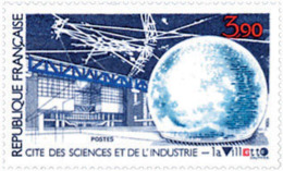 Ref. 123875 * NEW *  - FRANCE . 1986. LA VILLETTE; CITY OF SCIENCE AND INDUSTRY. CIUDAD DE LAS CIENCIAS Y DE LA INDUSTRI - Nuevos