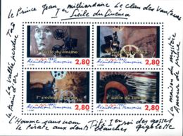 Ref. 124263 * NEW *  - FRANCE . 1995. 100 YEARS OF WORLD CINEMA. 100 A�OS DE CINE EN EL MUNDO - Ungebraucht