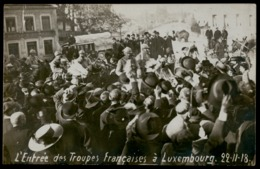 NEW - Ww1 - Arrivée Troupes Françaises  Luxemburg Luxembourg  WIROL Soldats 1914 1915 1916 1917 1918 1919 - Luxembourg - Ville
