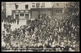 NEW - Ww1 - Entrée Légionnaires  Luxemburg Luxembourg  WIROL Soldats 1914 1915 1916 1917 1918 1919 Brahms - Luxembourg - Ville