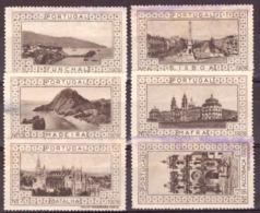 Portugal  1928 - Vignettes Touristiques - Emissions Locales