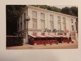 Carte De Visite Restaurant San Marino Huy - Cartes De Visite