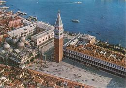 VENEZIA - PIAZZA SAN MARCO DALL'AEREO- VIAGGIATA 1993 - Italia