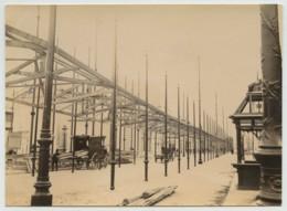 Paris . Les Travaux De L'Exposition Universelle De 1889 Vus De L'intérieur . - Photos