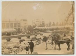 Paris . Les Travaux De L'Exposition Universelle De 1889 Vus De L'intérieur . Tour Eiffel . - Photos