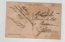 Madame La Receveuse Des Postes à Cousance Jura 1927 Bienhoa Groupe Faisant Partie De La Tribu Ro - Genealogía