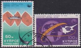 Cyprus 1975 SG #449-50 Compl.set Used Telecommunications Achievements - Cyprus (Republic)