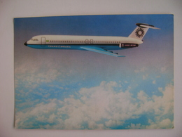 BRAZIL - OFICCIAL POST CARD AIRPLANE SUPER JET-500 FROM TRANS-BRASIL AIRLINES COMPANY IN THE STATE - 1946-....: Ere Moderne