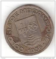 *mozambique 50 Centavos 1936  Km 65 Vf + - Mozambique
