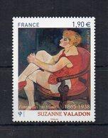 Francia - 2015 - Femme Aux Bas Blancs Di Suzanne Valadon - 1 Valore Da Euro 1,90 - Nuovo ** - (FDC20770) - Francia