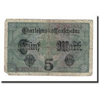 Billet, Allemagne, 5 Mark, 1917, 1917-08-01, KM:56a, B+ - [ 2] 1871-1918 : Impero Tedesco