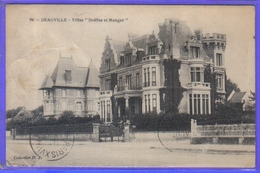 Carte Postale  14. Deauville Villas  Dollfus Et Manger   Très Beau Plan - Deauville