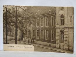 Louvain. Collège Du Pape Adrien. Animée - Leuven