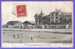 Carte Postale 14. Courseulles-sur-mer  La Plage Très Beau Plan - Courseulles-sur-Mer