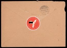 NEW - Luxemburg Luxembourg Gesandtschaft BOTSCHAFT 1939 Enveloppe  Occupation 1940 1945 Ww2 3. Reich Diekirch - Luxembourg - Ville