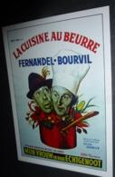 Carte Postale - Fernandel - Bourvil - La Cuisine Au Beurre (cinéma Affiche Film) Illustration : Belgique - Manifesti Su Carta