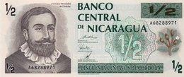 NICARAGUA  1/2 CORDOBA 1992 P-172 UNC - Nicaragua