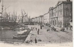 *** 13  ***  MARSEILLE L'hotel De Ville Et Le Quai Du Port - Precurseur  - Neuve Excellent état - Altri