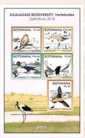 Botswana 2018 Birds MNH Sheet - Botswana (1966-...)