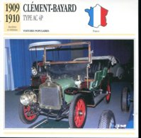France 1909-1910 - Clément Bayard Type AC 4 P - Voitures