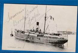 CARTE BATEAU L'ETOILE E.L. - Passagiersschepen