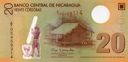 NICARAGUA  20 CORDOBAS 2007   P-202a   UNC - Nicaragua